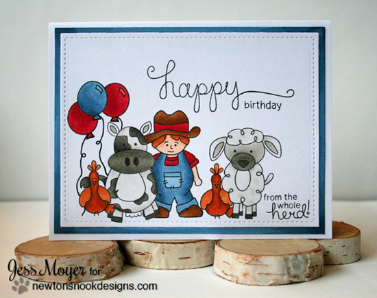 Newtons Nook Designs March Reveal Day 2 Farmyard Friends