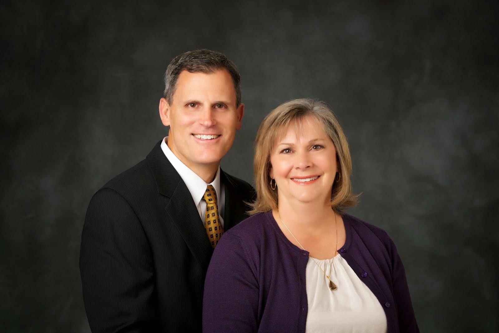 President and Sister Hansen