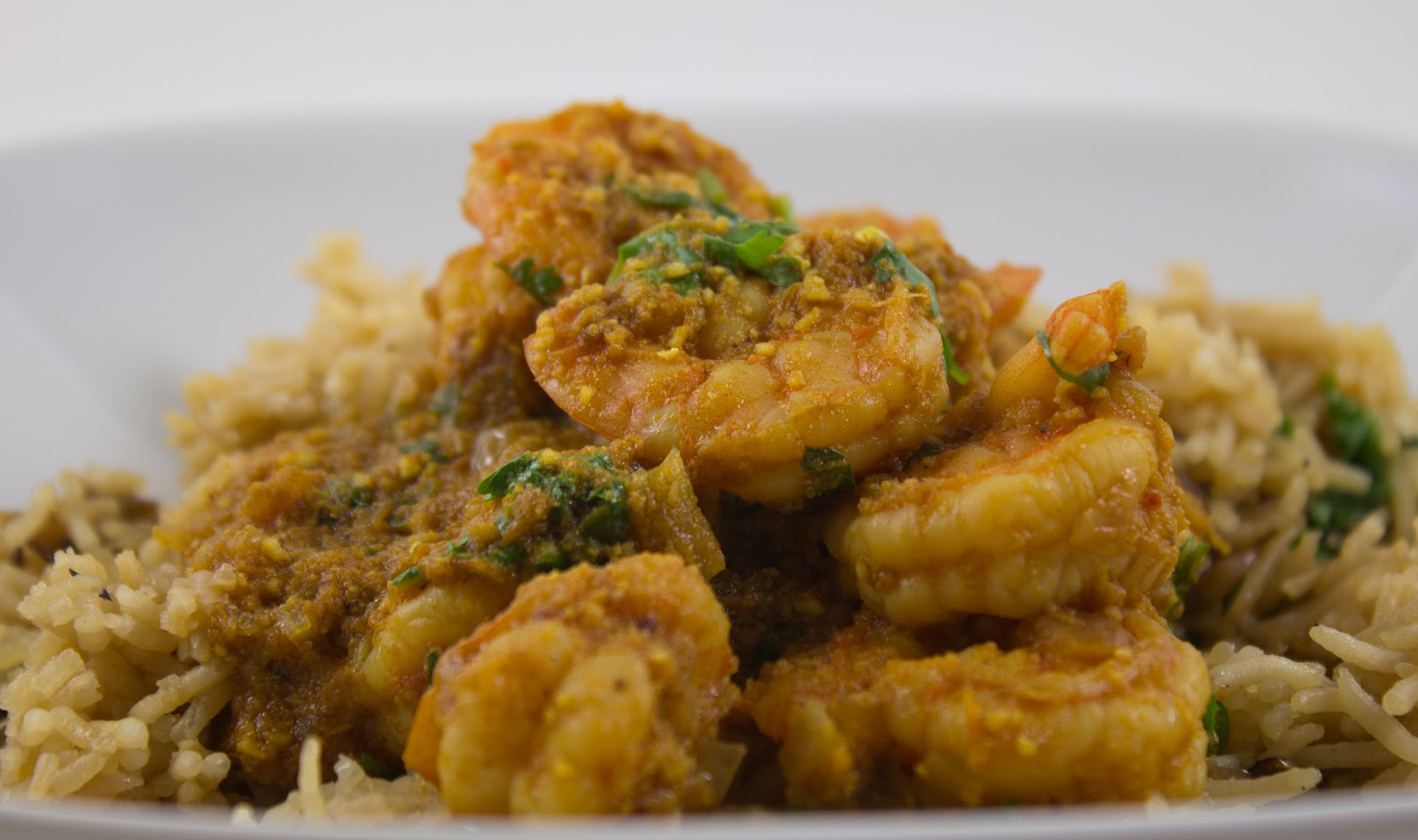 fabulous friday: Coconut Shrimp Curry with Ginger Rice