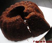 BIZCOCHO DE CHOCOLATE FONDANT Y REMOLACHA