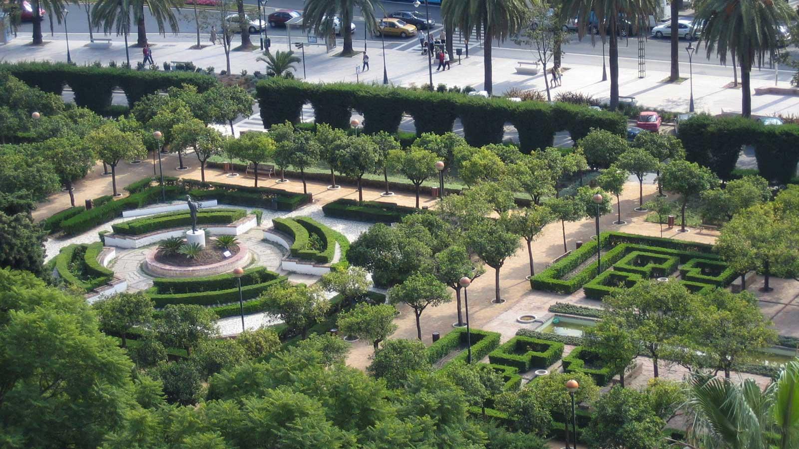 parques jardines y fuentes de m laga patrimonio