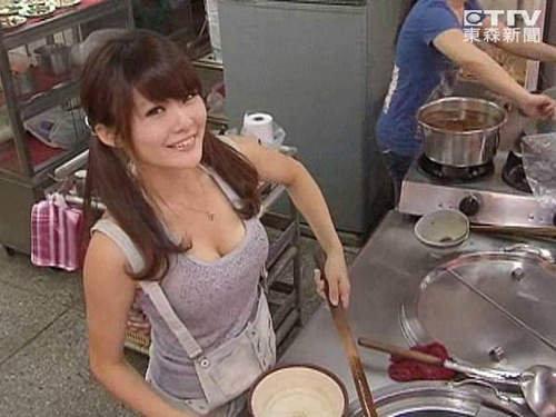 鄭羽廷牛肉麵正妹