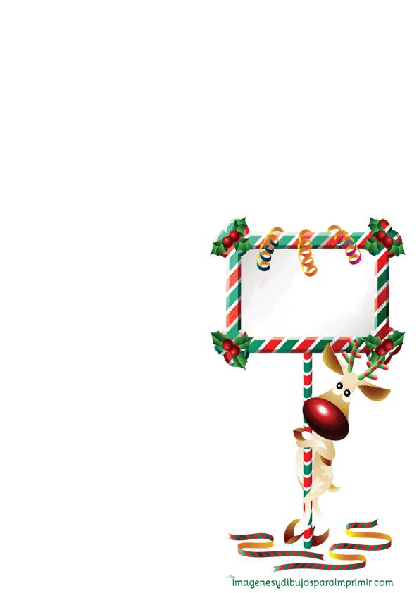Folios de navidad para imprimir