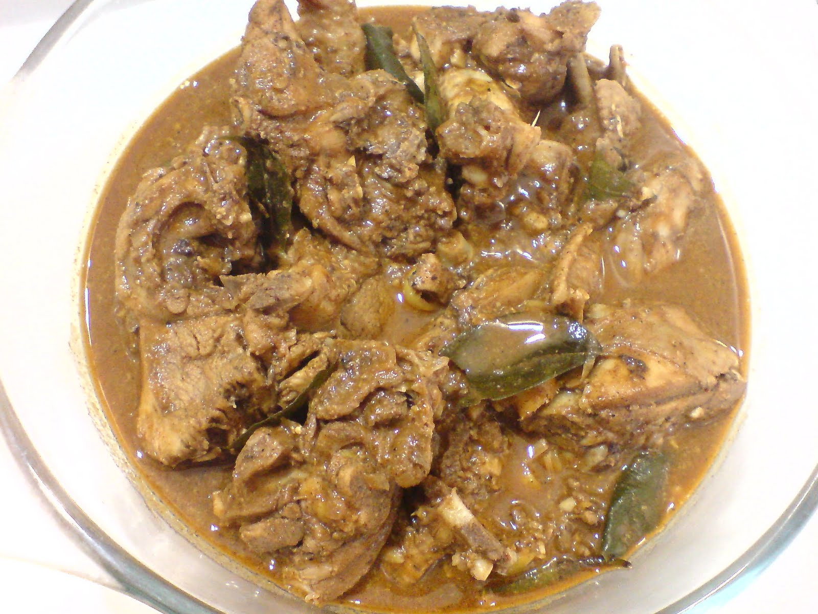Nihari's CookBook: Sri Lankan Chicken Curry (Hot)