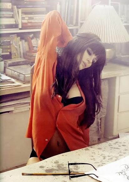 И напоследок современная актриса Кейт Бекинсейл в образе Анны Кариной