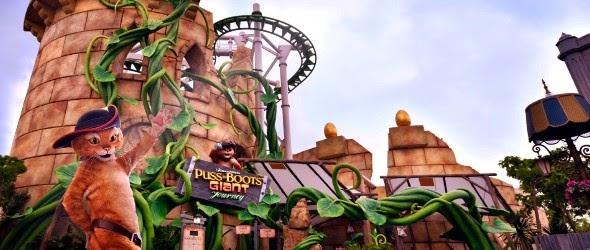 Le Chat Potté a aussi son attraction à Universal Studios Singapore !