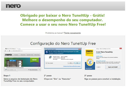 Acelere seu computador com o Nero TuneItUp