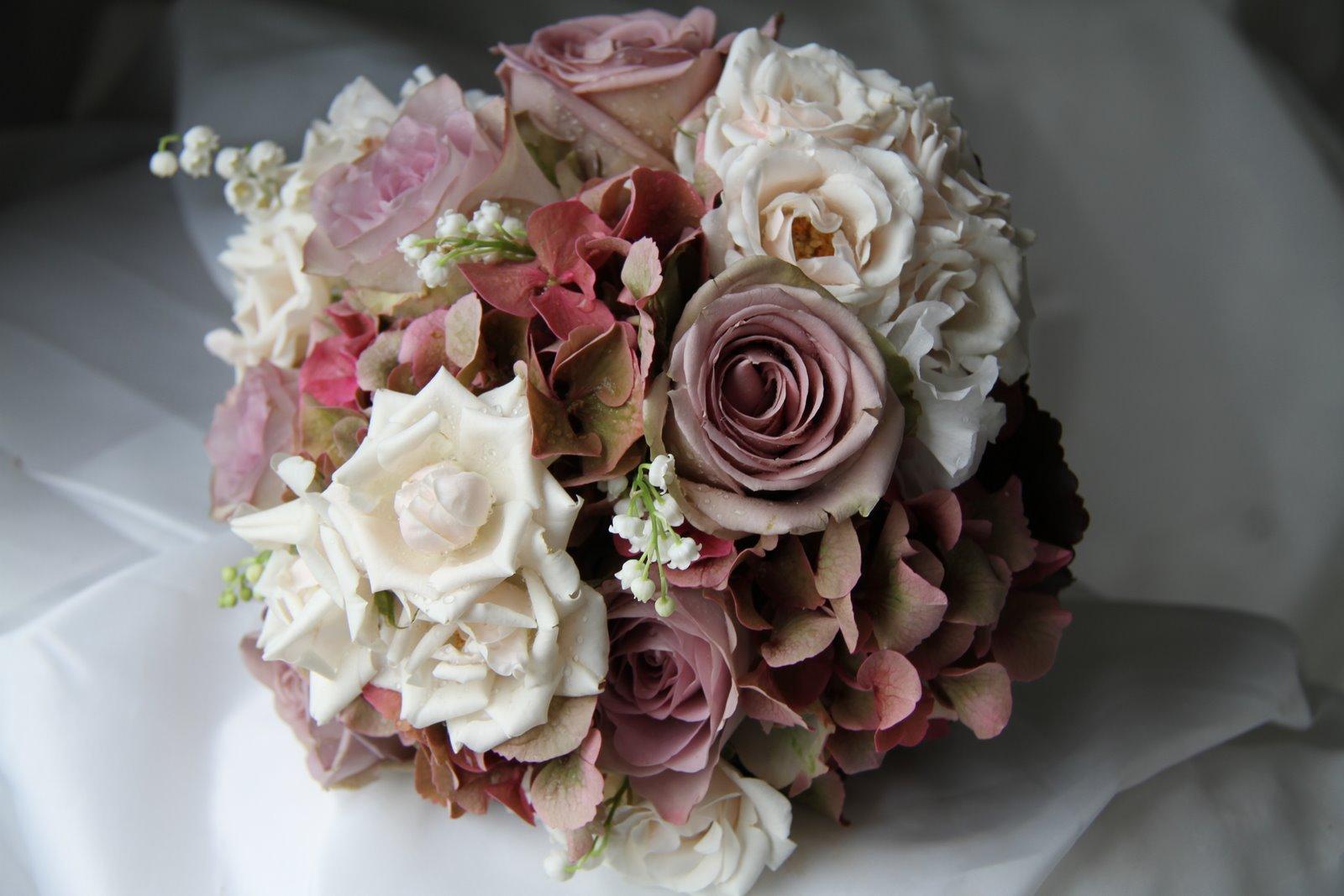 the flower magician vintage bridal bouquet. Black Bedroom Furniture Sets. Home Design Ideas