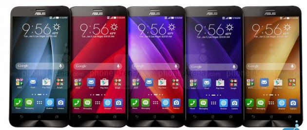 Harga Dan Spesifikasi Asus Zenfone 2 Terbaru