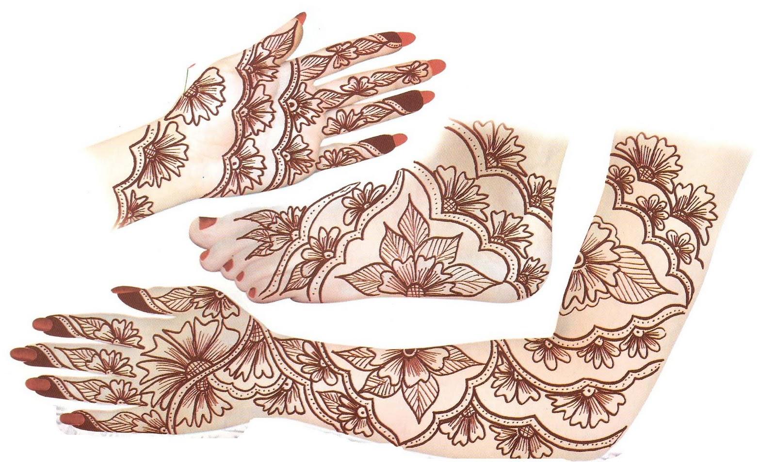 Latest Indian Sudani Pakistani Arabic Arabian Mehndi Designs Images2012 2011 Fashion Henna ...