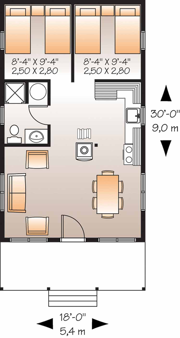 Set the trail our homestead ideas we have for our little for 18 x 24 cabin floor plans