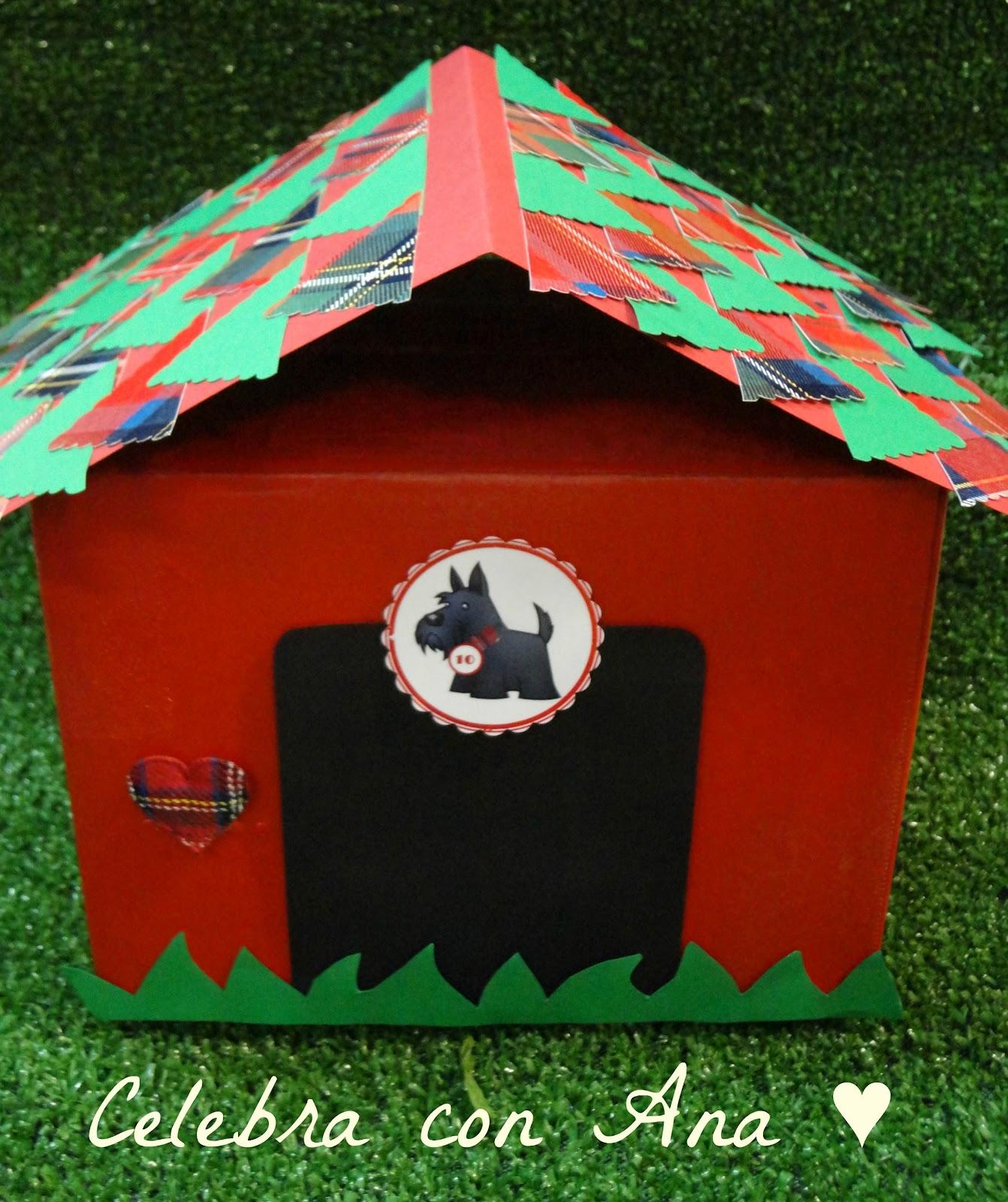 Celebra con ana compartiendo experiencias creativas tutorial casita de perrito - Como hacer una casita para perros ...