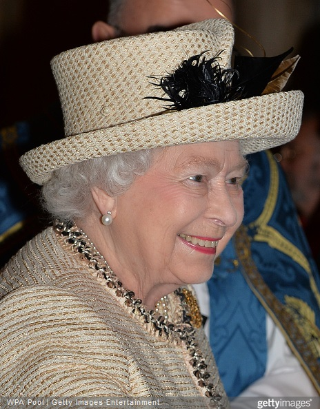 Queen Elizabeth II attends the Observance for Commonwealth Day Service At Westminster Abbey