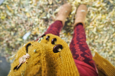 mustard+sweater+and+fall+leggings - Stepping Stones