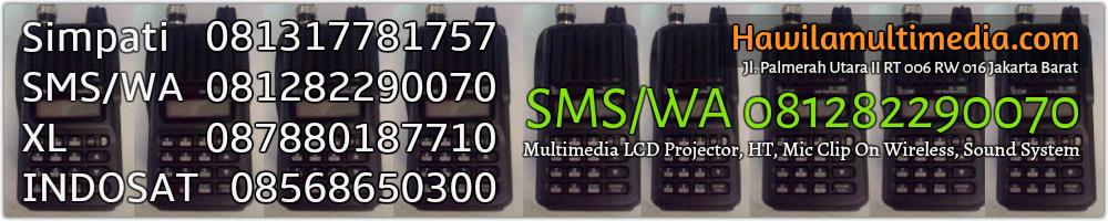 Sewa HT Rental Handy Talky Infocus LCD Projector Kemang Jakarta Selatan