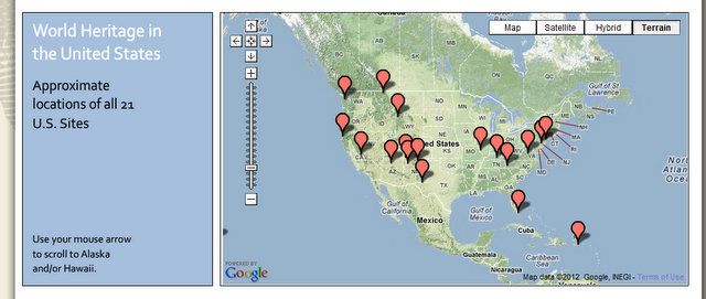Map us parks
