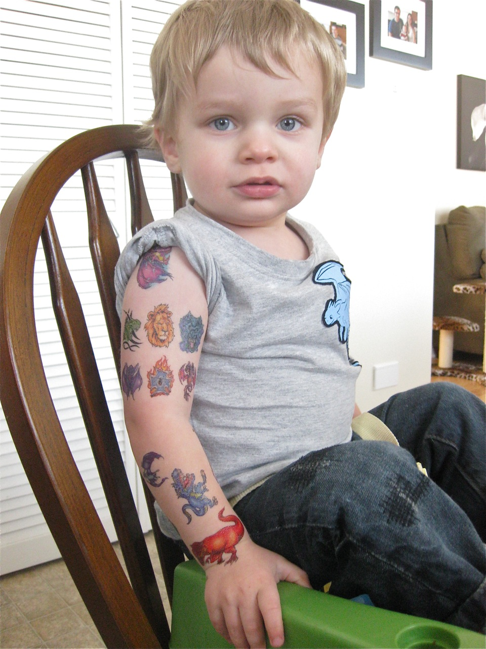 fake tattoos for kids