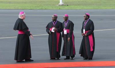 Pope Francis state visit kenya two