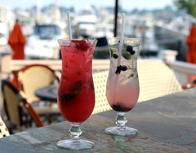 Foggy Harbor Raspberry Mist Cocktail Recipe