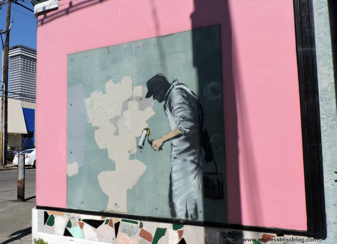 banksy mural new orleans