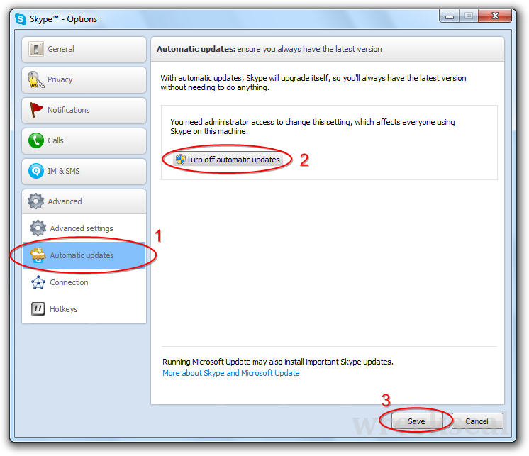 how to delete skype account on windows 8