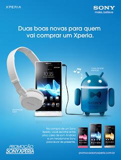 Sony Mobile prorroga promoção para este Natal