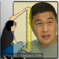 What is the height of Jose Manalo?