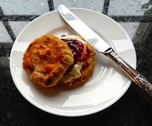 Renaissance Girl Cooks. Orange And Cranberry Scones