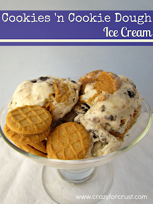 Recipe: Cookies 'n cookie dough ice cream