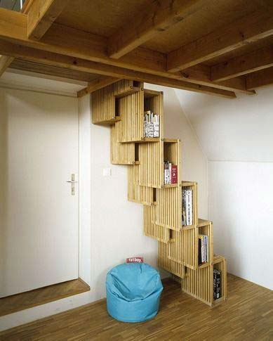 Space Saving Stair Design