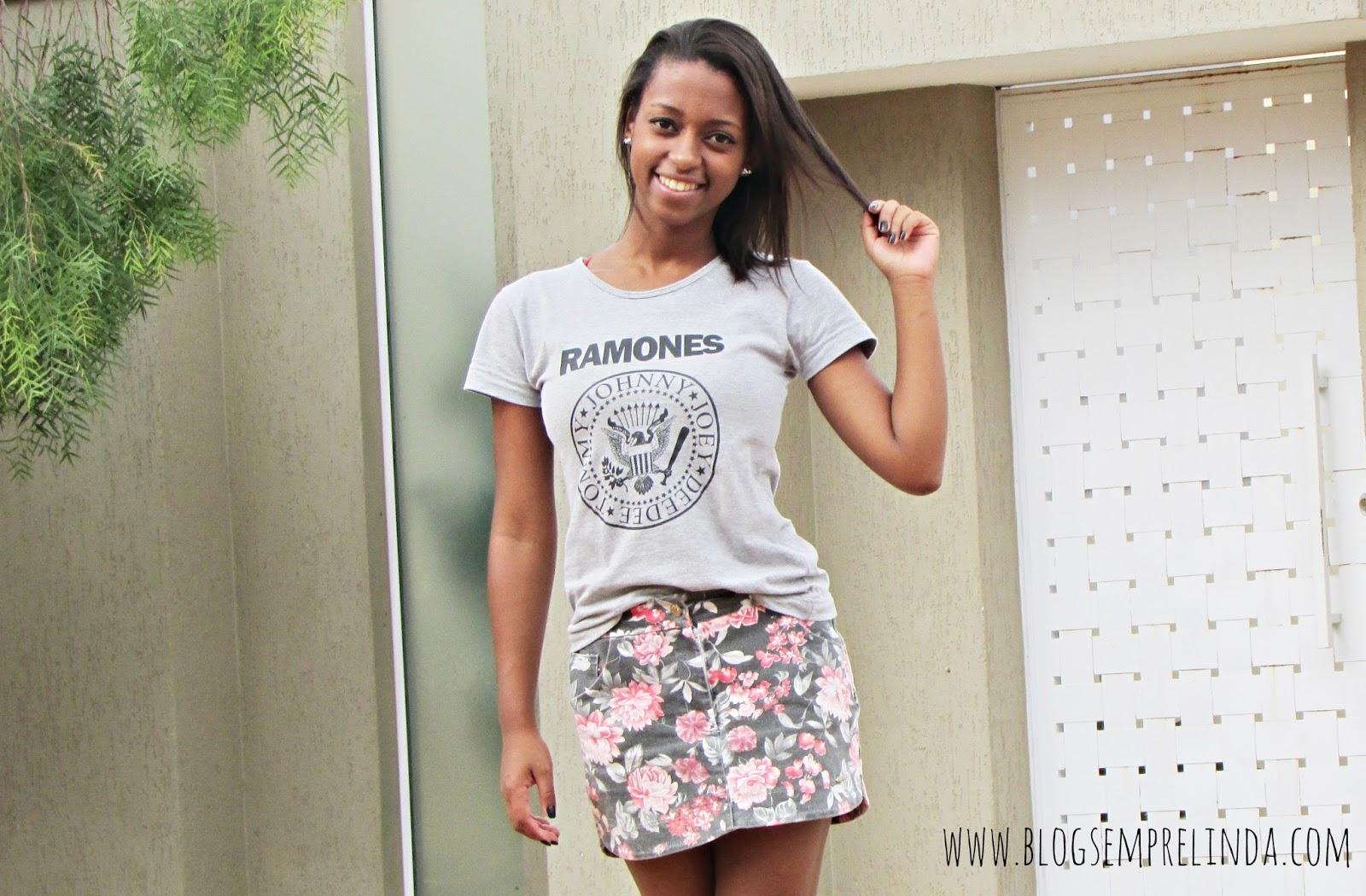 Look Do Dia = Ramones + Floral