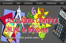 Calculadora de calorías, calculadora científica y conversión de unidades: Bricopage