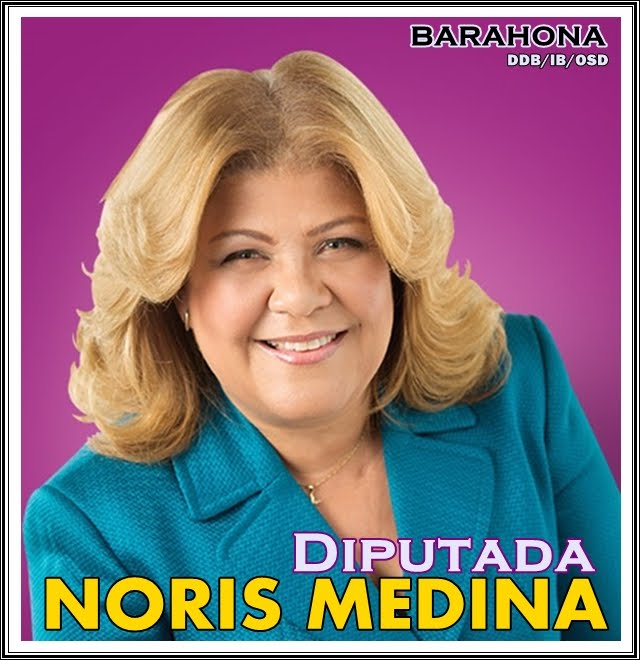 NORIS MEDINA DIPUTADA PLD BARAHONA, 2016-2020