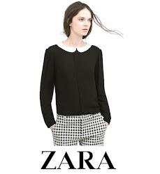 Crown Princess Mary Style  ZARA Collar Blouse