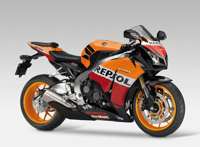 Motorcycle Race  The 2013 Honda CBR 1000 RR Superbike