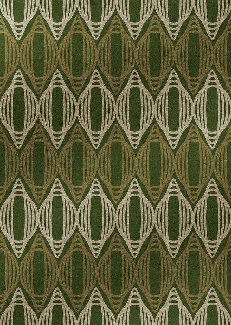 Interiores minimalistas nurbs de edeestudio alfombras - Alfombras dibujos geometricos ...