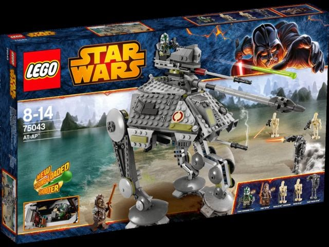 VIDEO REVIEW: LEGO Star Wars AT-AP   The Test Pit