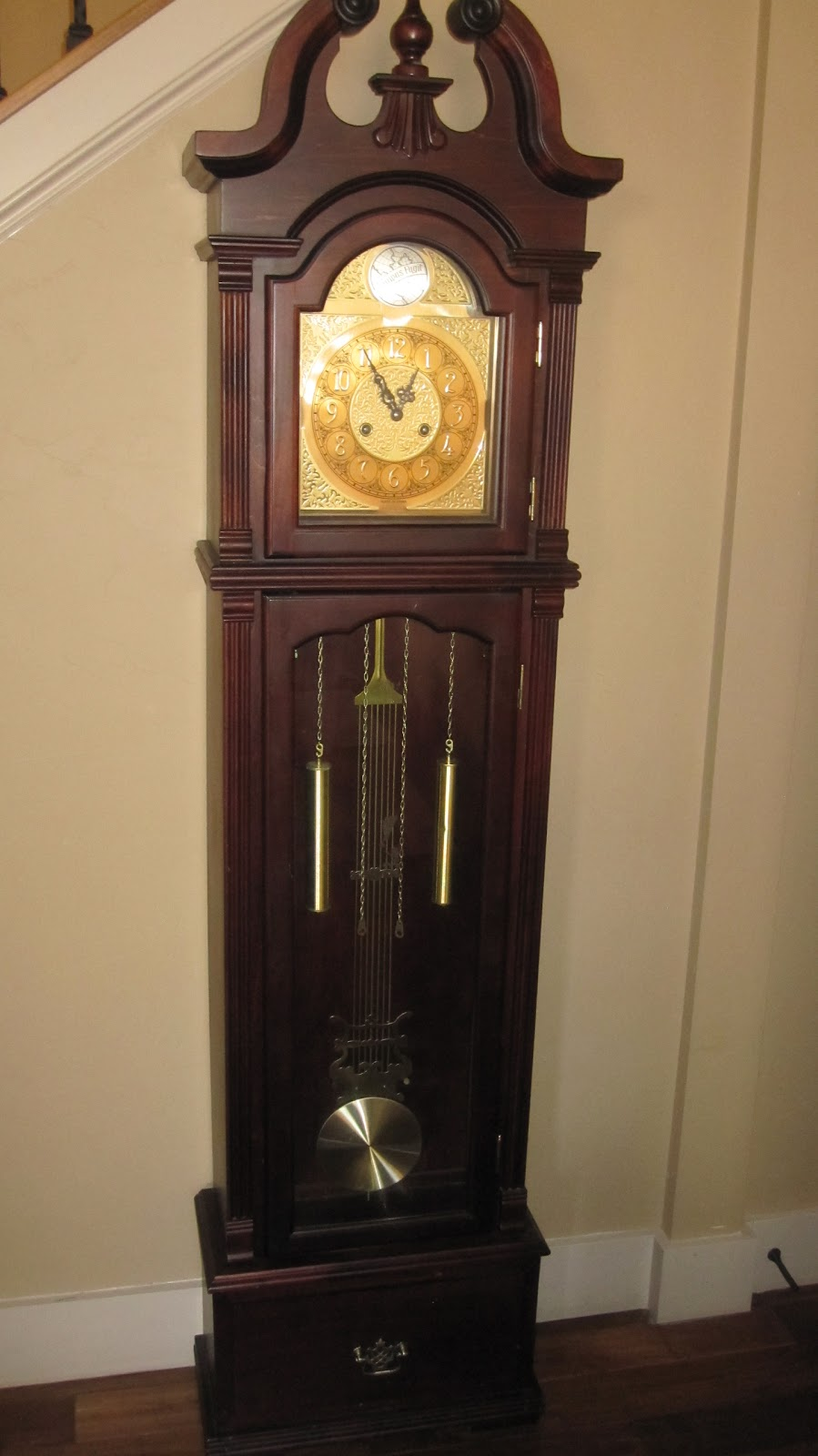 The Turquoise Piano: Grandfather Clock Makeover