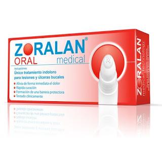LÁPIZ bucal ZORALAN, alivia de forma inmediata el dolor y forma una barrera protectora que favorece la cicatrización de la lesión