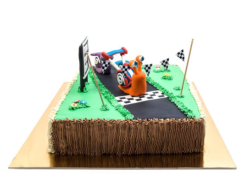 Turbo fondant cake 2nd edition left side
