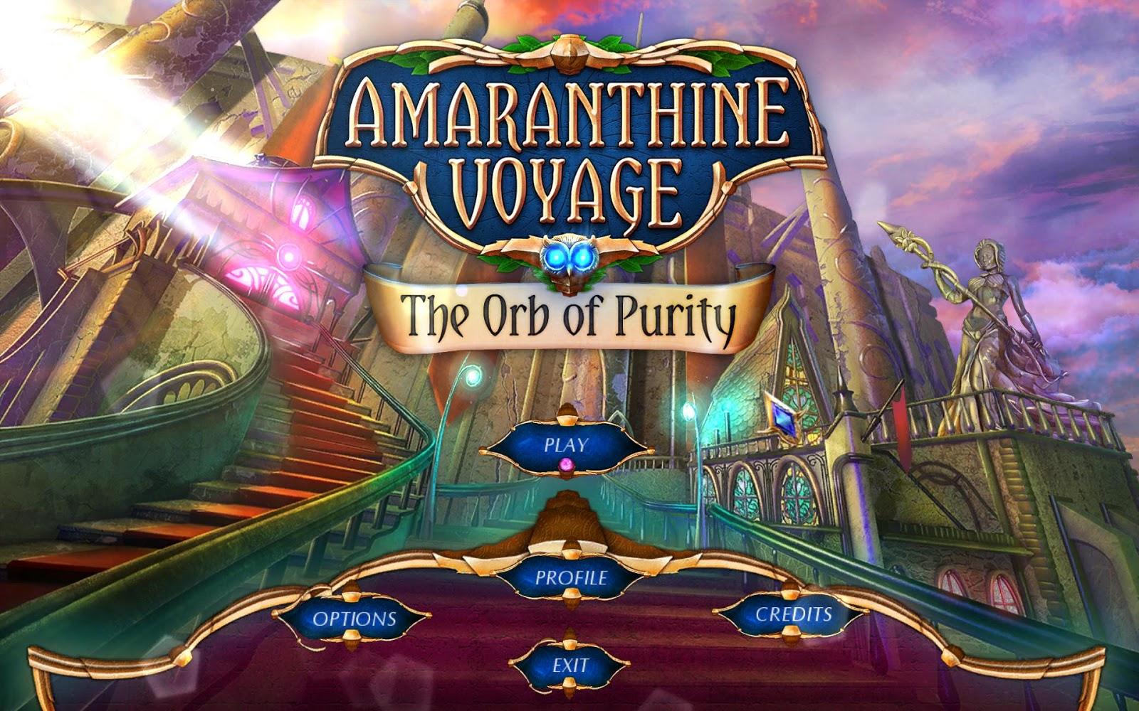 amaranthine voyage the orb of purity