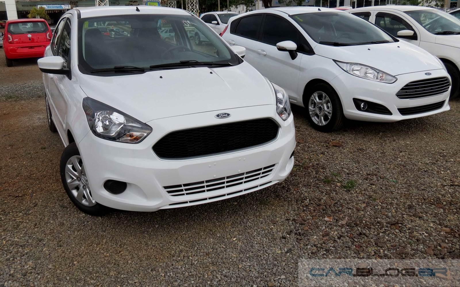 Novo Ford Ka X New Fiesta