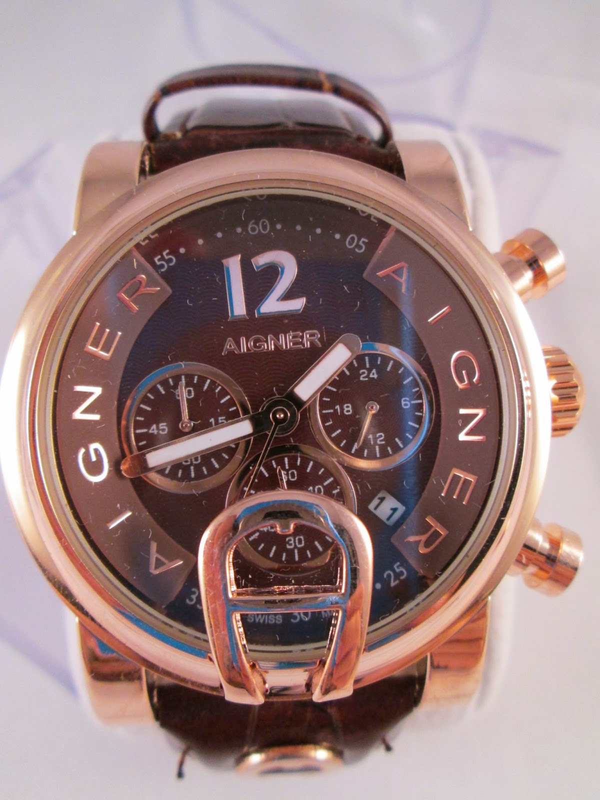 Aigner BARI Full Brown Kulit