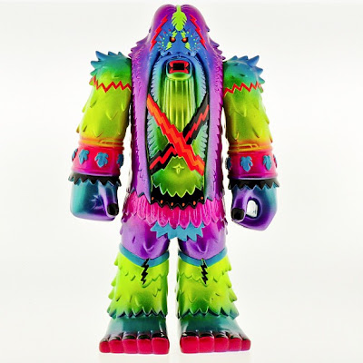Custom Forest Warlord Vinyl Figure by Skinner