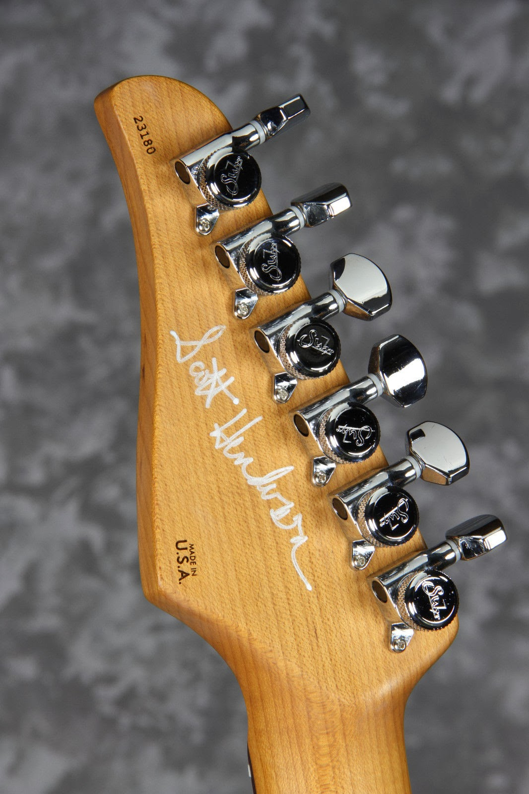 Suhr Scott Henderson Guitar Signed by Scott