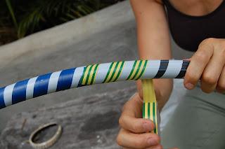 how to make handmade hula hoops