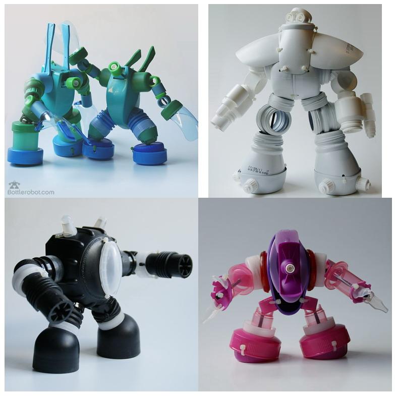 El mundo del reciclaje recicla piezas de pl stico y - Robot que limpia el piso ...
