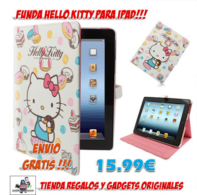FUNDA HELLO KITTY IPAD