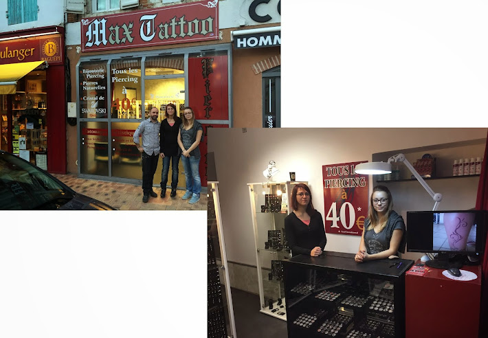 nouvelle boutique : Max tattoo