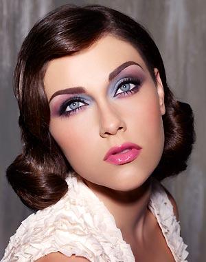 Maquillaje estilo Años 70's